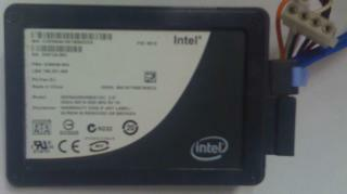 Intel X-25M SSD Solid State Disc
